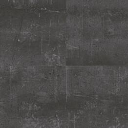 Vinyylilattia Tarkett Starfloor Click 55 Composite - Black Laatta musta 1.75 m²/pak