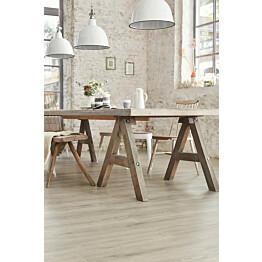 Vinyylilattia Tarkett Starfloor Click 55 Scandinavian Oak - Medium Grey 1-sauva harmaa 1.61 m²/pak
