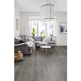 Vinyylilattia Tarkett Starfloor Click 55 Scandinavian Oak - Dark Grey 1-sauva harmaa 1.61 m²/pak