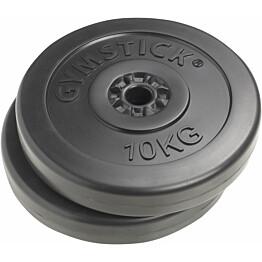 Vinyylilevypainot Gymstick 2 x 10 kg