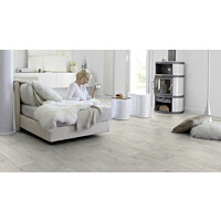 Vinyylimatto Gerflor HQR Timber White leveys 4m