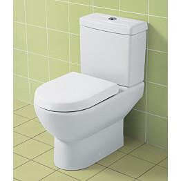 WC-istuin Villeroy & Boch Subway 2.0 6609 370x670 mm Valkoinen Alpin + istuinkansi + huuhtelusäiliö