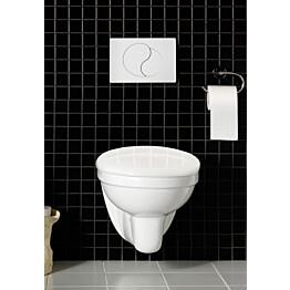 WC-ryhmä Hafa Wall seinä-WC + kansi + painike + huuhtelujärjestelmä valkoinen