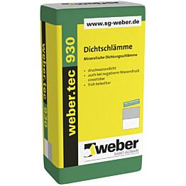 weber.tec 930 vedeneristyslaasti 25 kg pakkaus
