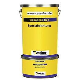 Weber.tec_ 827 s epoksivedeneriste 8 kg pakkaus