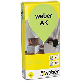 weber.vetonit AK Antiikkilaasti karkea 25 kg säkki