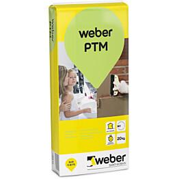 weber.vetonit PTM Pikatäyttömassa 20 kg