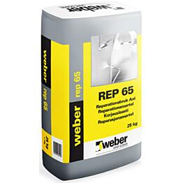 weber.vetonit REP 65 korjauslaasti 25 kg pakkaus
