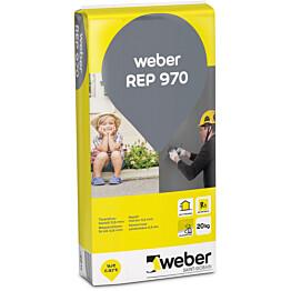 weber.vetonit REP 970 Tasoituslaasti 0,6 mm 25 kg säkki