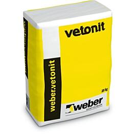 weber.vetonit REP 990 Joustosementtipinnoite komp. A jauhe 25 kg