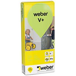 weber.vetonit V+ Hienotasoite 25 kg säkki