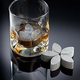 Whiskykukka jaakivet 38x18mm vuolukivi 6kpl pkt