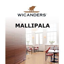 Wicanders-korkkilattian mallipala