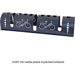 Pyöräteline PP-Tuote Wixu pyöreä 3 pyörää musta