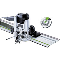 Yläjyrsin Festool OF 1010 EBQ-Set