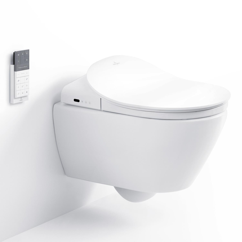 elektroninen pesev wc istuin villeroy boch viclean l v02el401 valkoinen. Black Bedroom Furniture Sets. Home Design Ideas