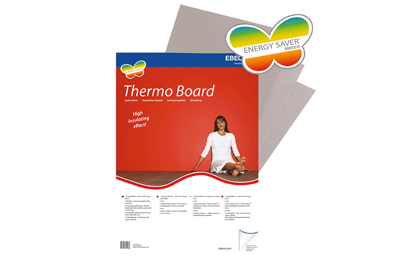 Eristelevy Thermo Board 10mm 3.6m2