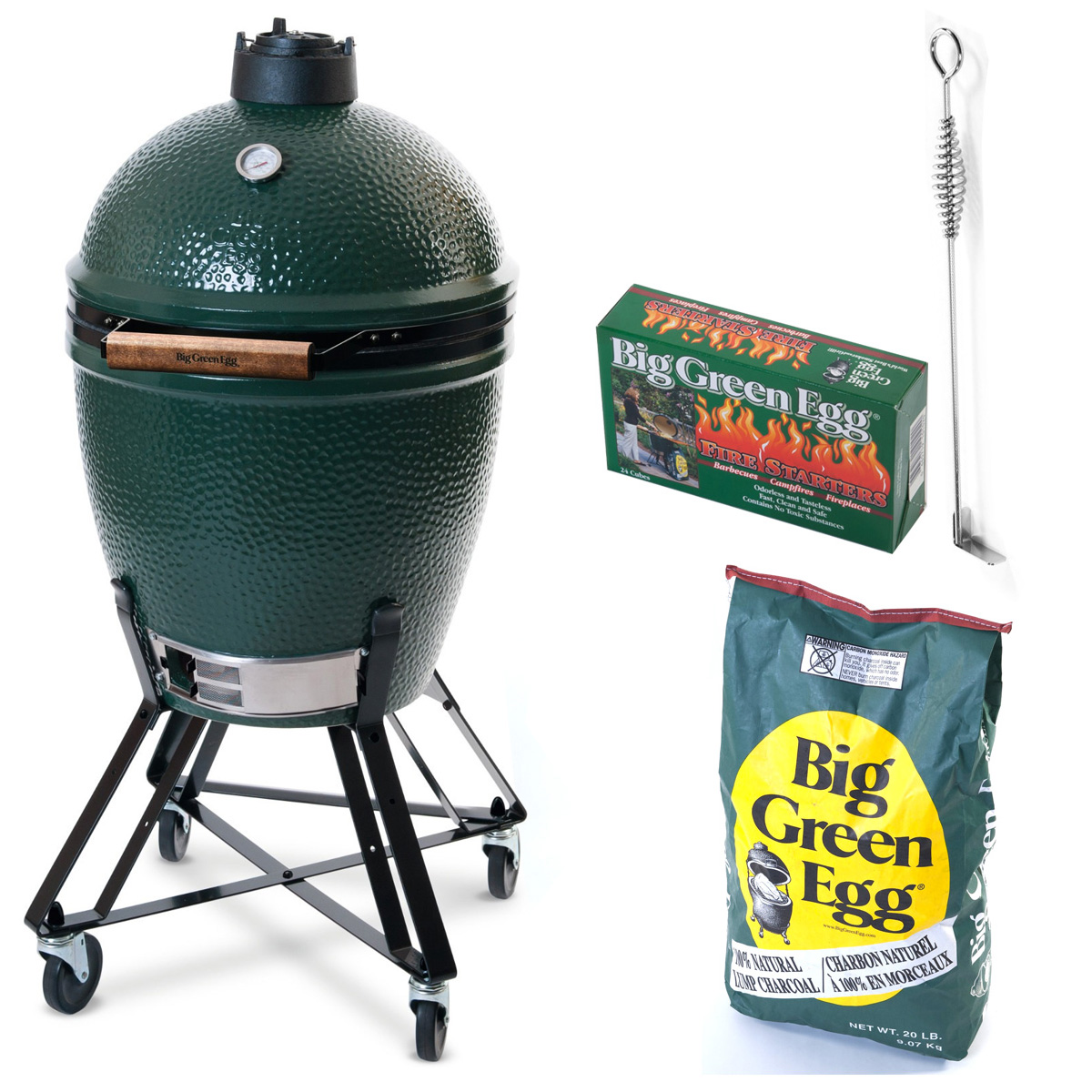 Hiiligrilli Big Green Egg Peruspaketti Large