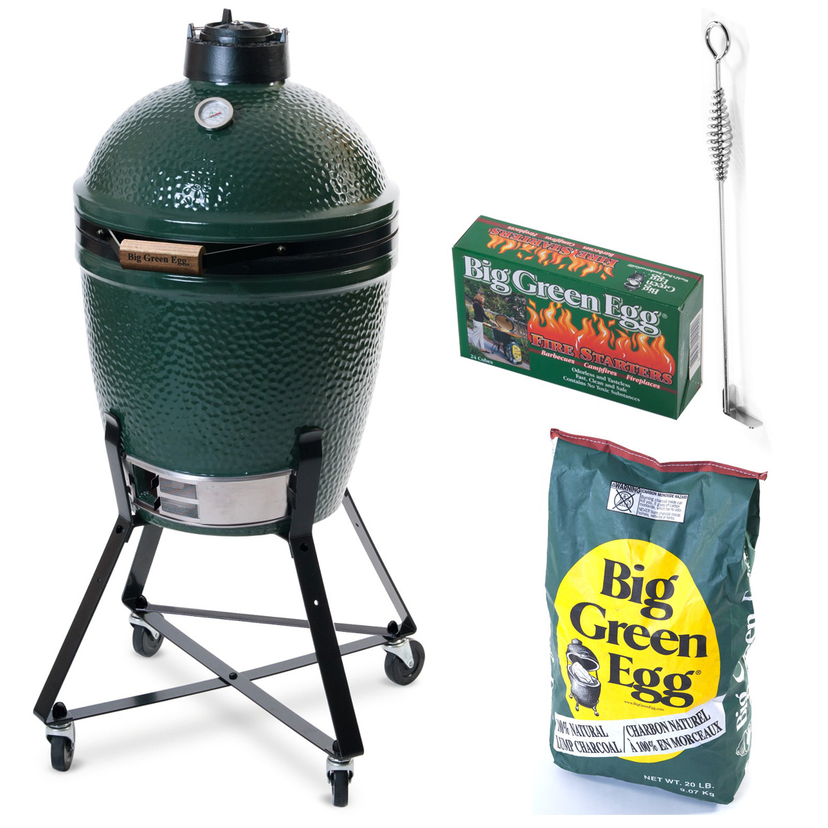 Hiiligrilli Big Green Egg Peruspaketti Medium