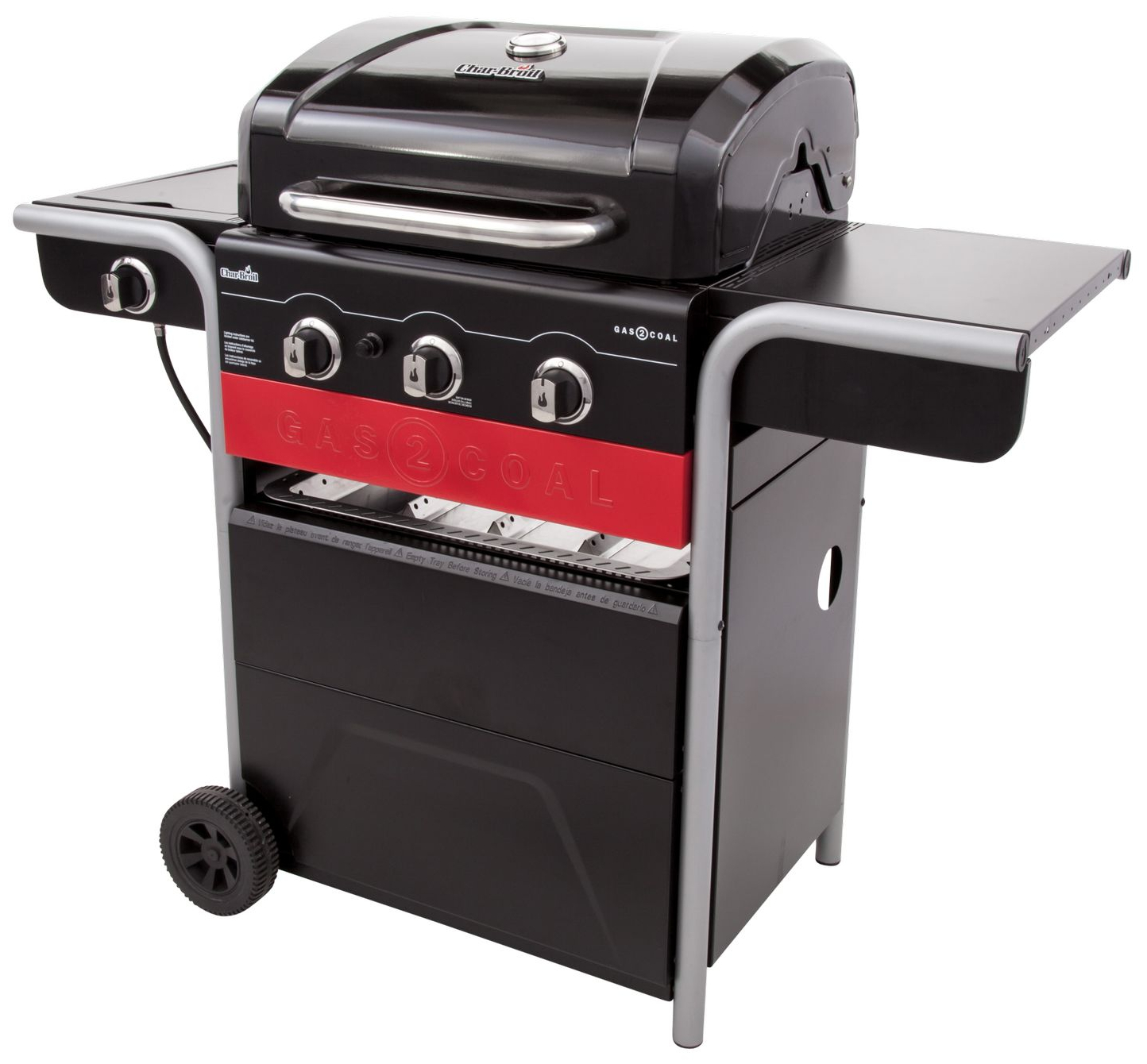 Hybridigrilli Char-Broil Gas2Coal
