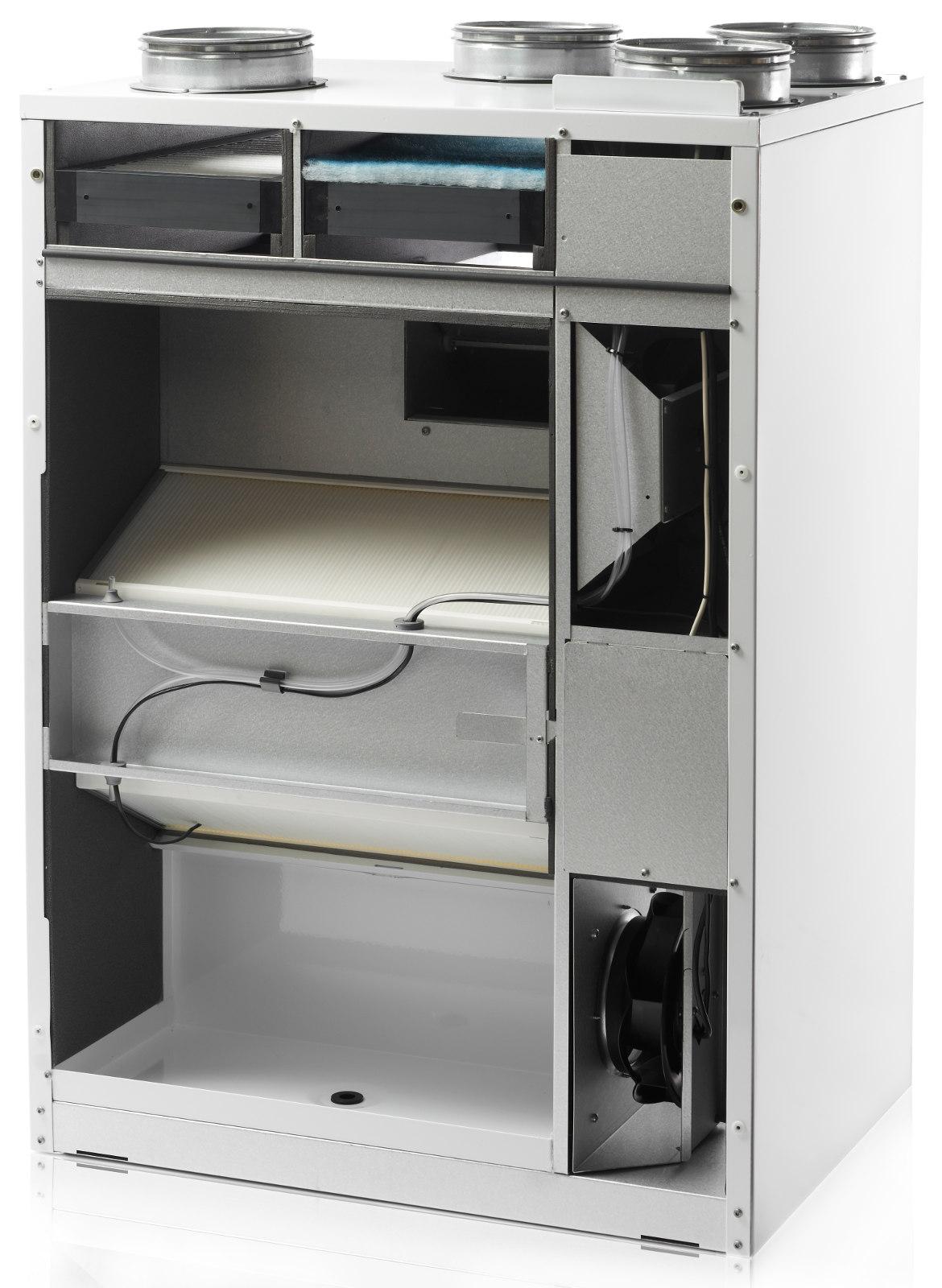 Rørig Ilmanvaihtolaite Nilan Comfort CT300 (sisäinen esilämmitys OI-76
