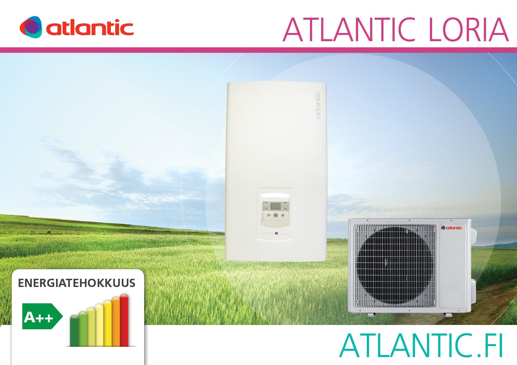 Ilmavesilämpöpumppu Atlantic Loria 6008 8 kW - Taloon.com
