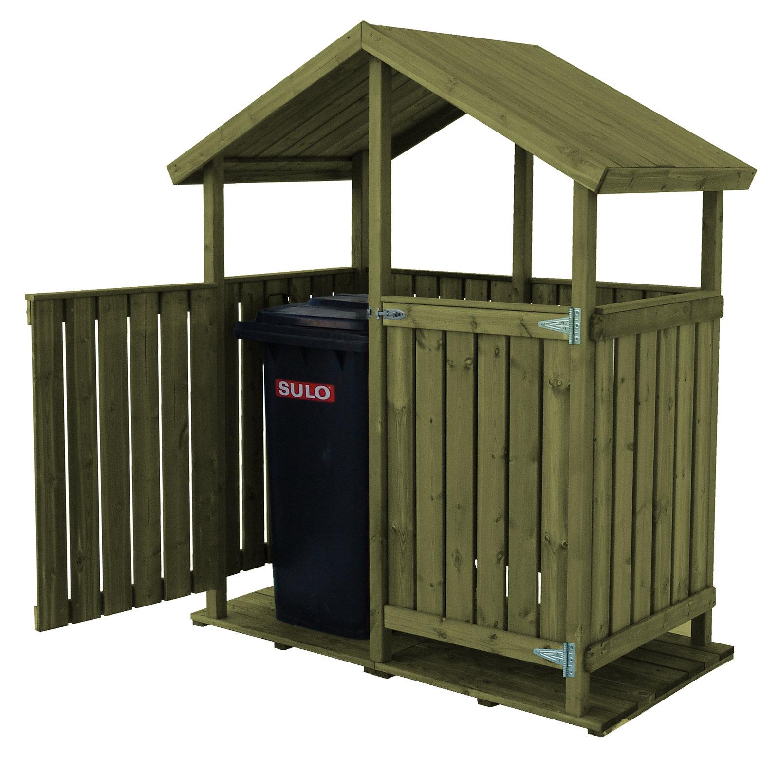 Jätekatos Classic tupla A1170 + ovet vihreä  Taloon com