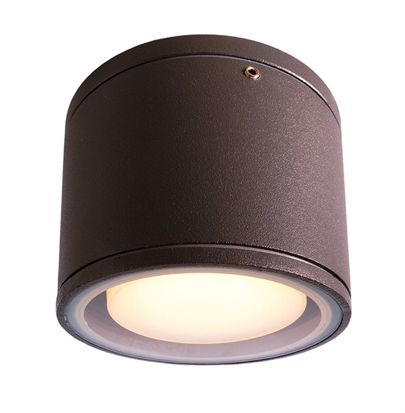 Kattovalaisin ulos Deko-Light Mob Square I 108 mm antrasiitti