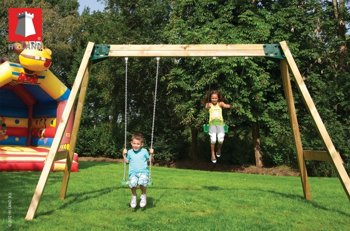 Keinuteline Hy-land Classic Swing Set
