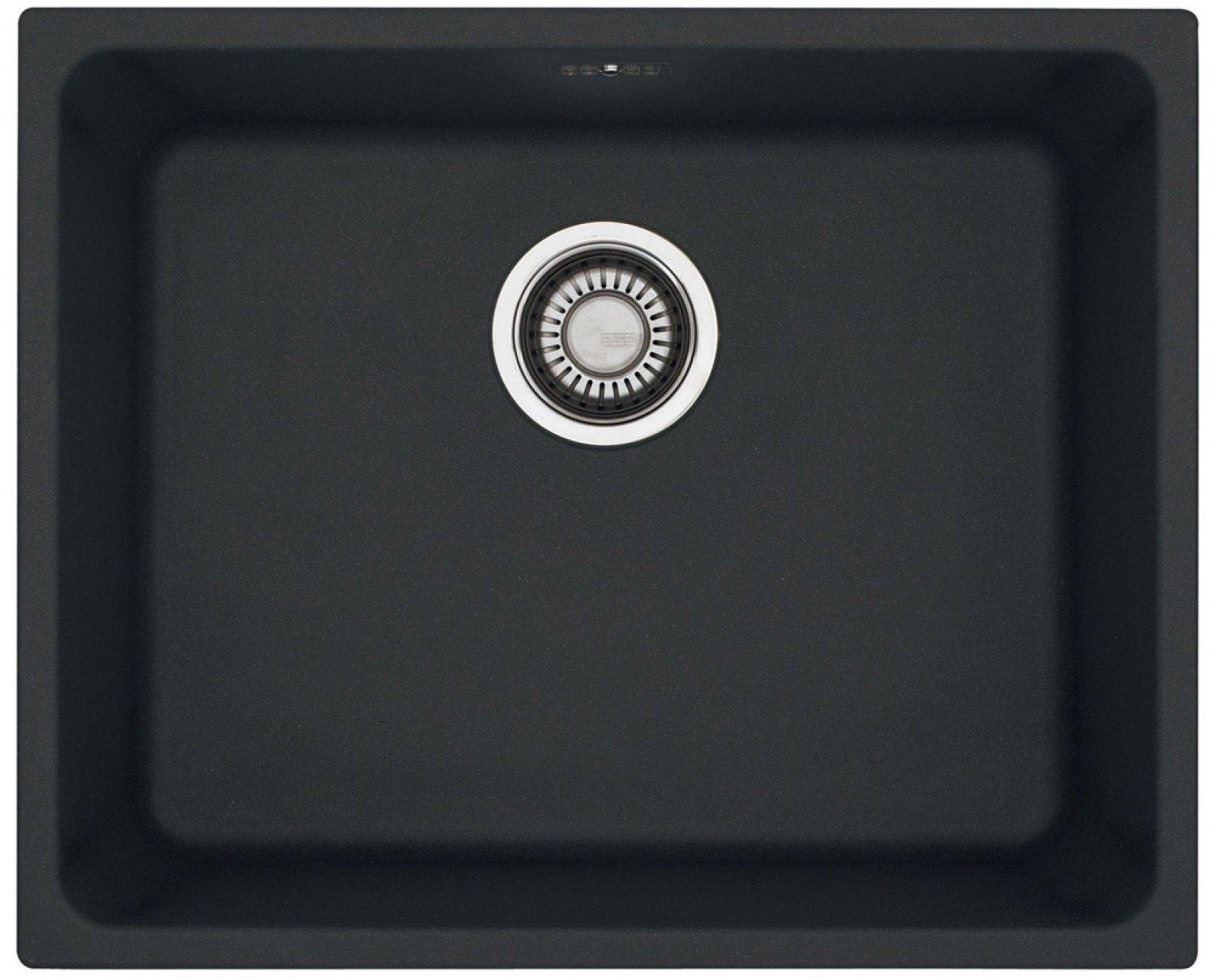 Keittiöallas Franke Kubus KBG 110 50 540×440 mm Fragranite musta  Taloon com