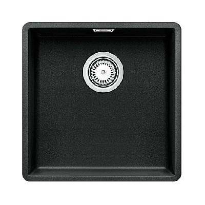 keitti allas blanco subline 400 f 427x427 mm silgranit huullettava antrasiitti. Black Bedroom Furniture Sets. Home Design Ideas