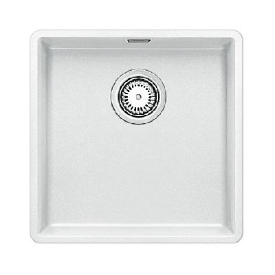 keitti allas blanco subline 400 f 427x427 mm silgranit huullettava valkoinen. Black Bedroom Furniture Sets. Home Design Ideas