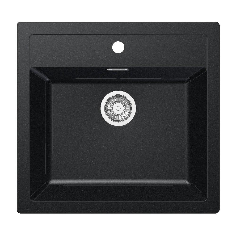 Keittiöallas Franke Sirius SID 610 560×530 mm Tectonite musta  Taloon com