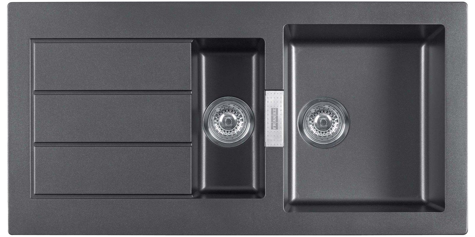 Keittiöallas Franke Sirius SID 651 1000×510 mm Tectonite musta  Taloon com