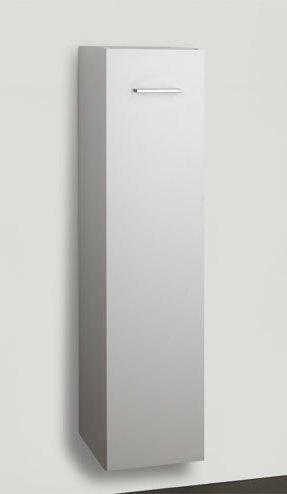 Korkea kaappi Easy 711311 122x30x35 cm valkoinen