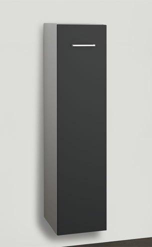 Korkea kaappi Easy 711312 122x30x35 cm harmaa/valkoinen