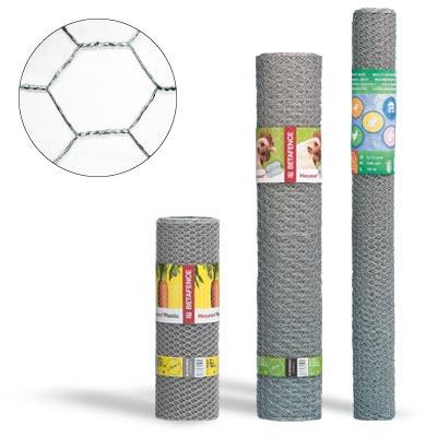 Kuusikulmaverkko sinkitty 40x0,9x1200mm 10m/RLL