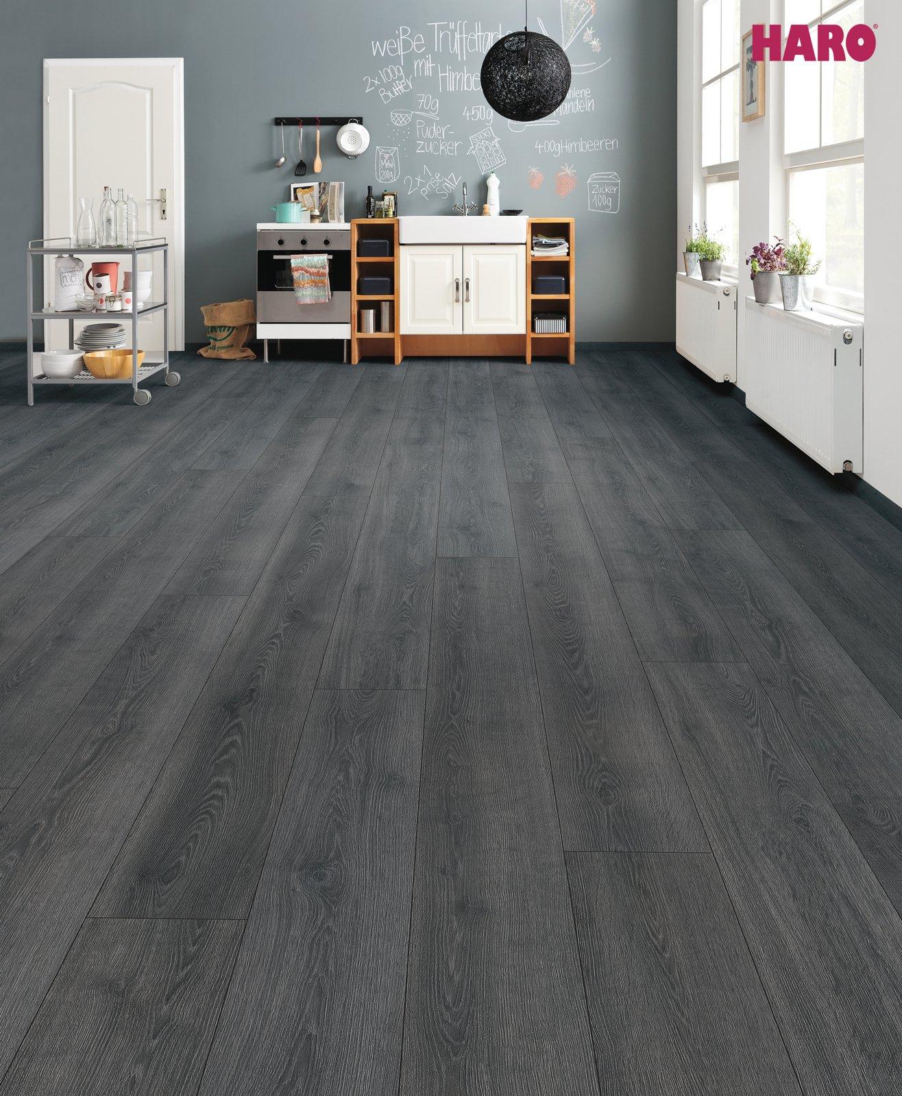 laminaatti tritty 100 gran via tammi contura musta lankku authentic 4v 2 68 m pak. Black Bedroom Furniture Sets. Home Design Ideas