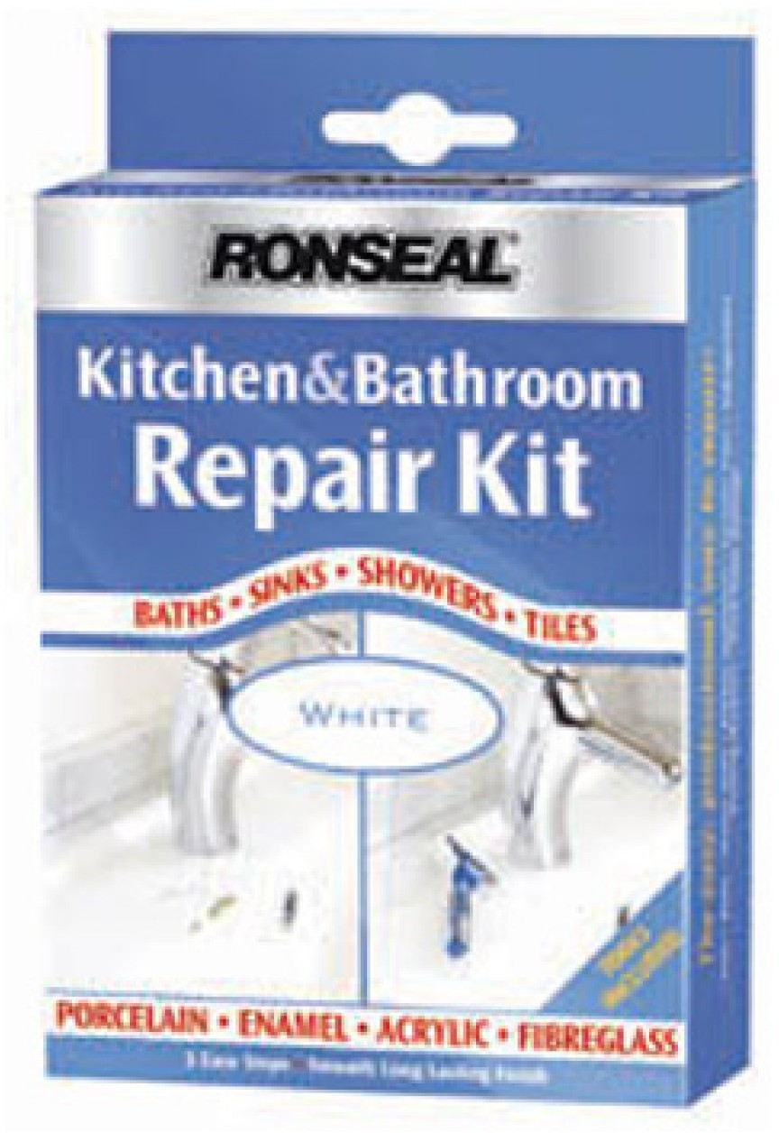 Lavuaarin/ammeen paikkaussetti Ronseal Kitchen/Bathroom repair kit