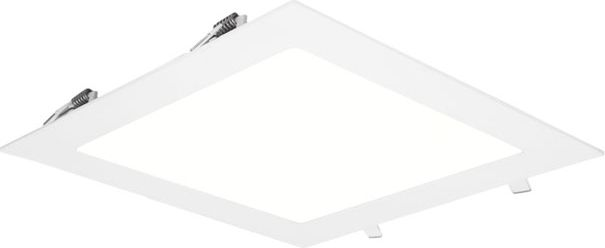 LED-alasvalo Limente DSI-18 Lux 225x225x20 mm 18 W IP44 valkoinen