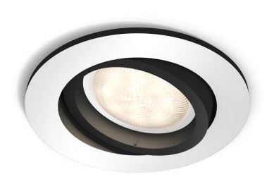 LED-alasvalo Philips Hue Milliskin Ø 90x100 mm alumiini