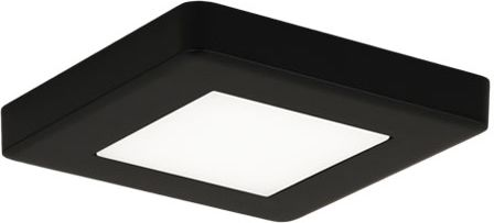 LED-kalustevalaisin Limente LED-Leno 19 80x80x12 mm 4.2 W musta