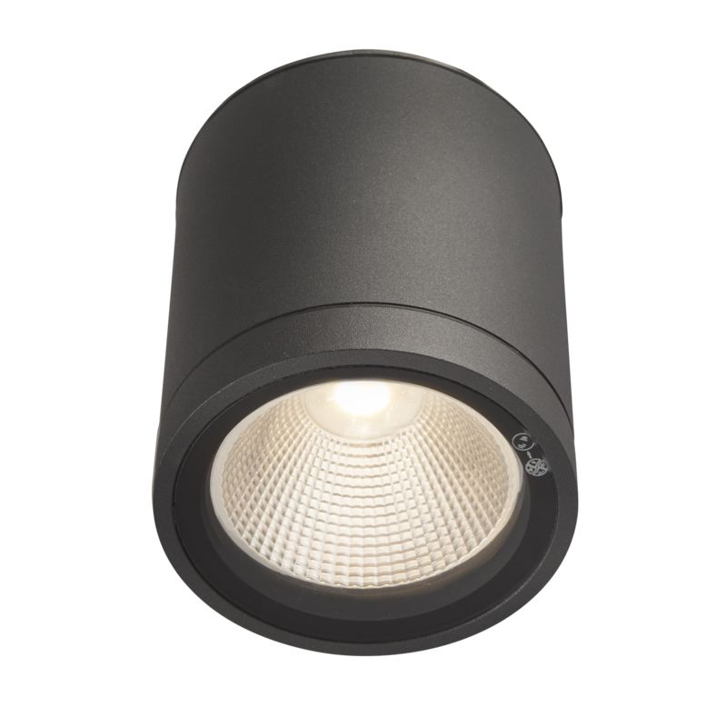 LED-kattovalaisin Hide-a-lite Milo XL Down antrasiitti 3000K