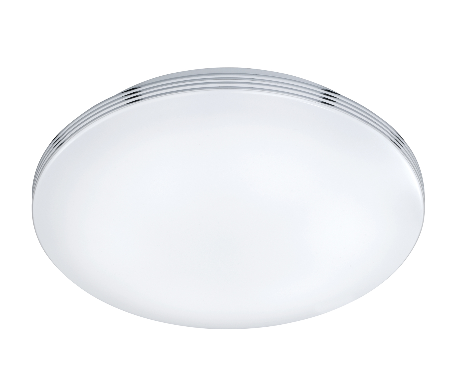 LED-kattovalaisin Apart Ø 350x95 mm IP44 kromi
