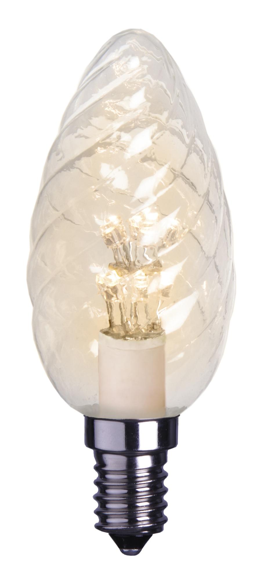 LED-kynttilälamppu Decoration LED 337-31 Ø 35x100 mm E14 kirkas kierre 0,9W 2100K 75lm