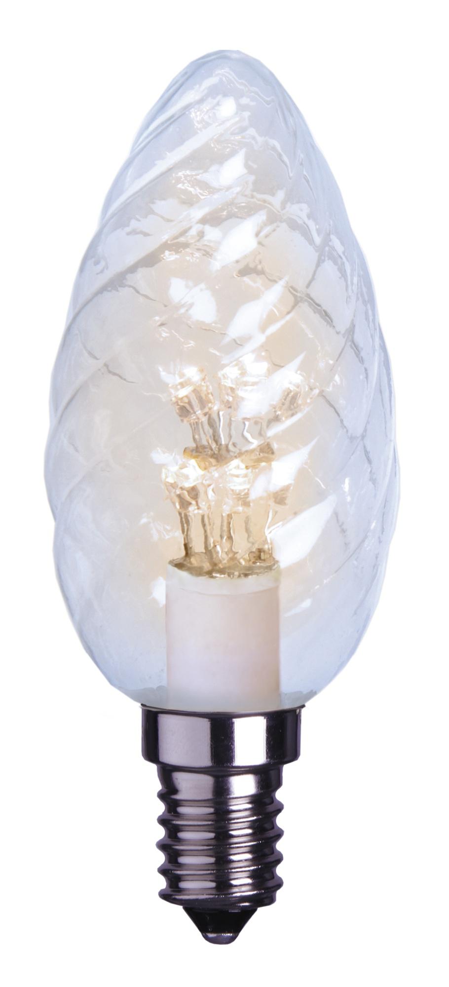 LED-kynttilälamppu Decoration LED 337-36 Ø 35x100 mm E14 kirkas kierre 0,9W 2600K 55lm