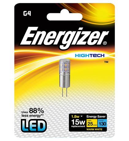 LED-lamppu Energizer High Tech G4 1,8 W kirkas