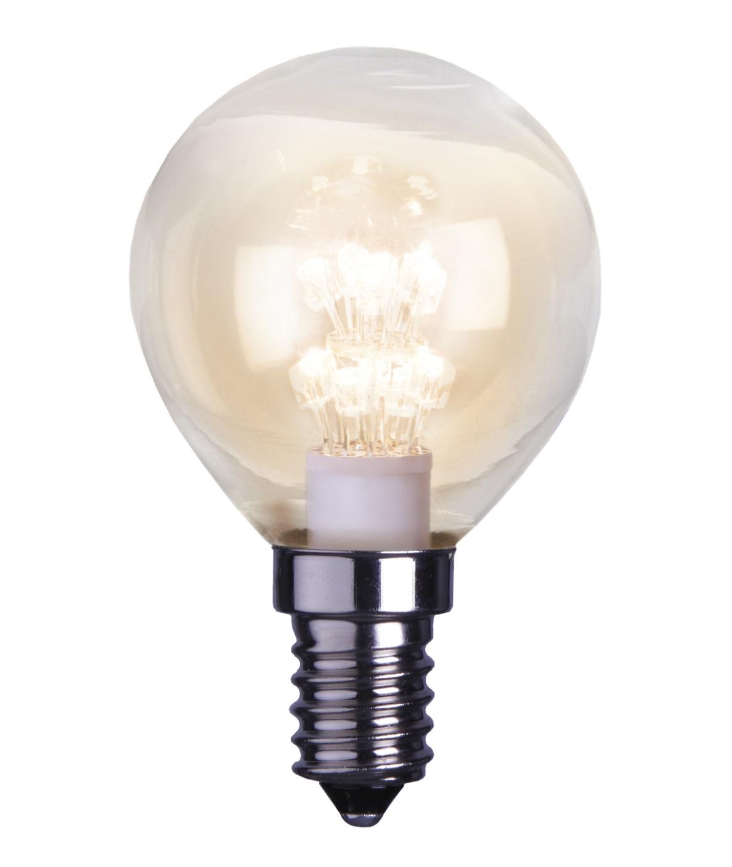 LED-lamppu Decoration LED 336-11 Ø45x75 mm E14 kirkas 0,9W 2100K 55lm