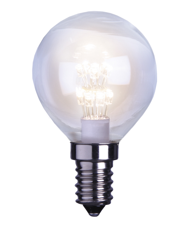 LED-lamppu Decoration LED 336-16 Ø 45x75 mm E14 kirkas 0,9W 2600K 55lm