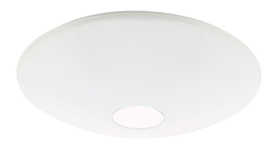 LED-plafondi Eglo Crosslink Totari 34W Ø600 mm IP20 valkoinen/kromi